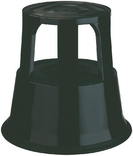 Opstapkrukje Desq 42cm metaal zwart