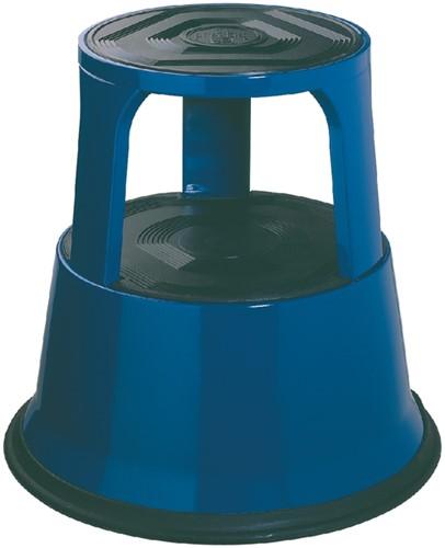 Opstapkrukje Desq 42cm metaal blauw