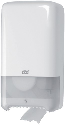 Tork toiletpapierdispenser Twin Mid-Size, systeem T6