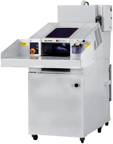Groot volume papiervernietiger HSM SP 4040 snippers 5.8x50mm
