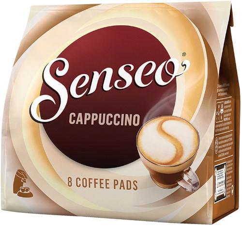 Koffiepads Douwe Egberts Senseo cappuccino 8 stuks