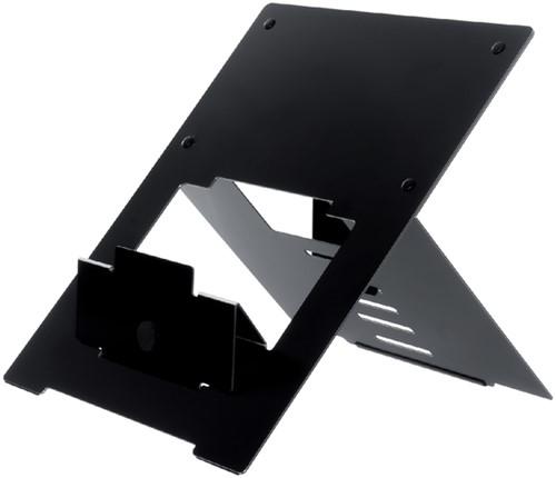 Laptopstandaard R-Go Tools zwart voor laptops tussen de 10 en 22 inch