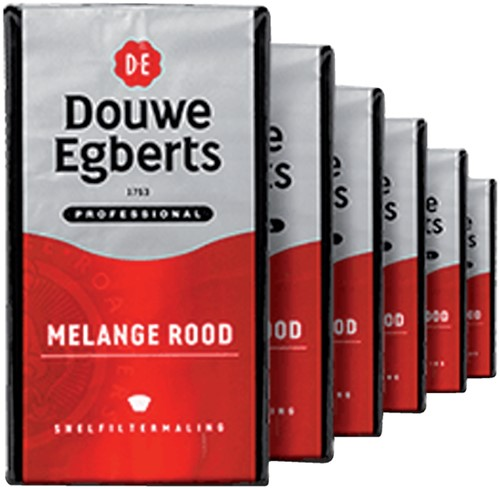 Douwe Egberts koffie pak van 500 g, snelfilter