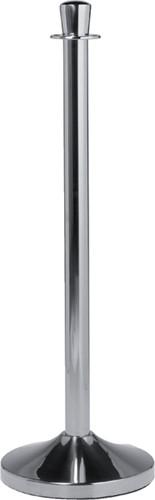 Afzetpaal Securit 100cm met voet chroom