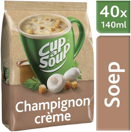 Grootverpakking Cup-a-soup  champignon creme met 40 porties