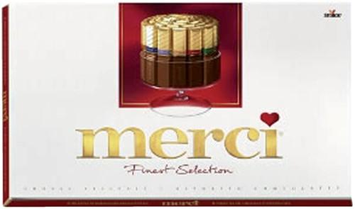 Chocolade Merci Finest selection 400gr