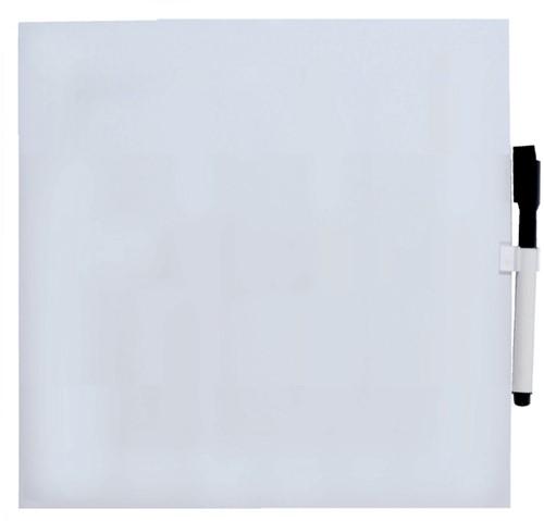 Vierkant whiteboard 35x35cm wit