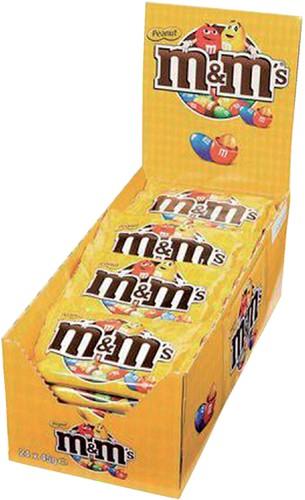 M&M's pinda single 45gr 24 zakjes