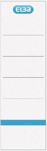 Elba Rugetiketten rug van 8 cm, wit