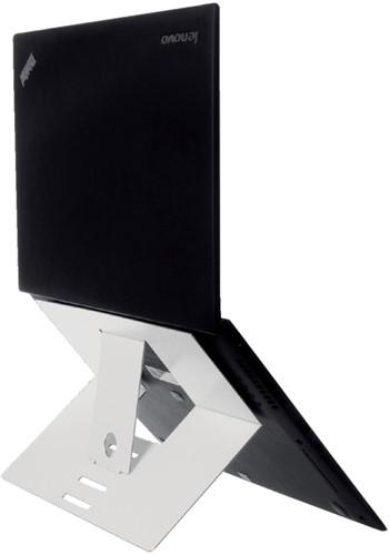 laptopstandaard R-Go Tools wit voor laptops tussen de 10 en 22 inch