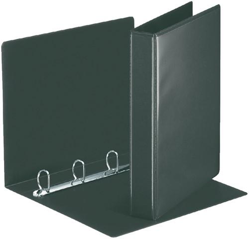 Esselte Presentatie ringband 4D-ringen 20 mm in zwart