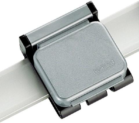 Klemboy Hebel magnetisch verschuifbaar grijs