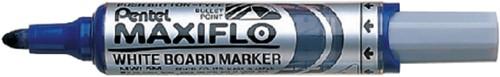 Pentel whiteboardmarker Maxiflo blauw
