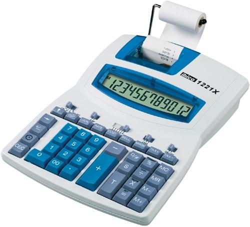 Ibico 1221X rekenmachine met rol