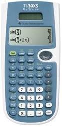 Texas wetenschappelijke rekenmachine TI-30XS Multiview werkt op zonnecellen en batterijen