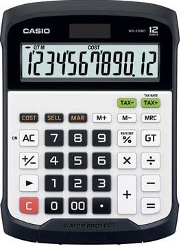 Casio waterbestendige bureaurekenmachine WD-320MT
