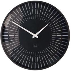 Sigel wandklok Lox diameter 36 cm zwart