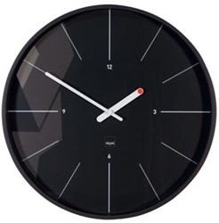 Sigel wandklok Ondo diameter 36 cm zwart