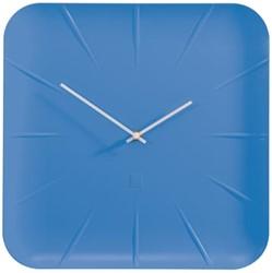 Sigel wandklok Inu diameter 35 cm blauw