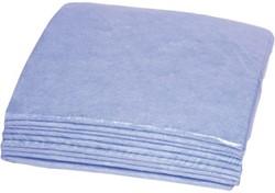 Werkdoek Primesource Non Woven blauw 38x40cm 10 stuks