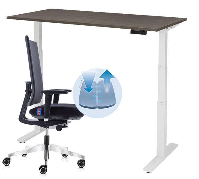 Goedkoop zit sta bureau met 5 jaar garantie kopen for Bureau zit sta