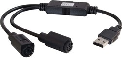 C2G Port Authority USB to Dual PS/2 Adapter
