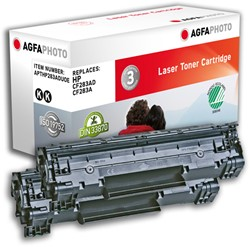 APTHP283ADUOE AP HP LJPROMFP127 CARTR(2) CF283AD/83A 2x1500pages