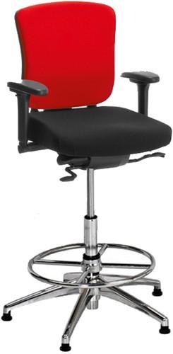 Hoge Bureau Stoel.Hoge Bureaustoel Kohl Multiplo 4700 Hawaii 350 Zwart Bij Pro Office