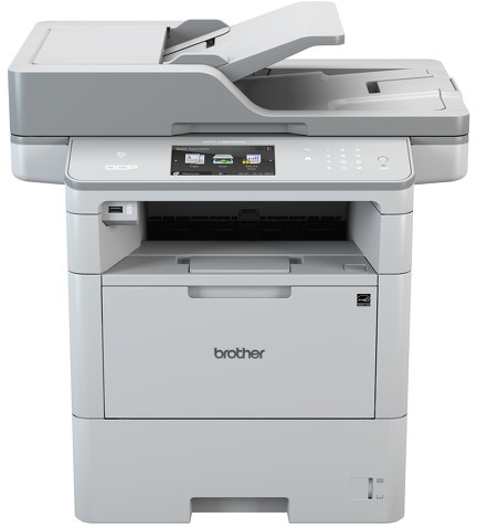 Brother DCP-L6600DW zwart wit all in one printer