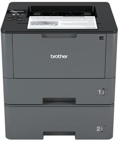 Laserprinter Brother HL-L5100DNT met twee papierladen en PayPerPrint