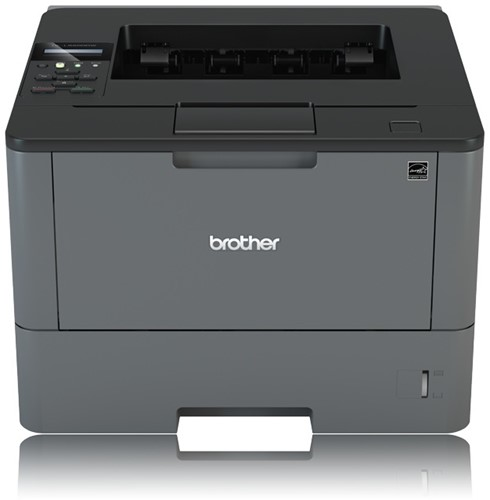 Brother laserprinter HL-L5200DW A4 zwart wit met wifi