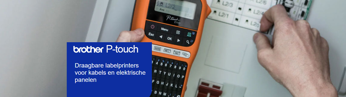 Brother-labelprinter p-touch