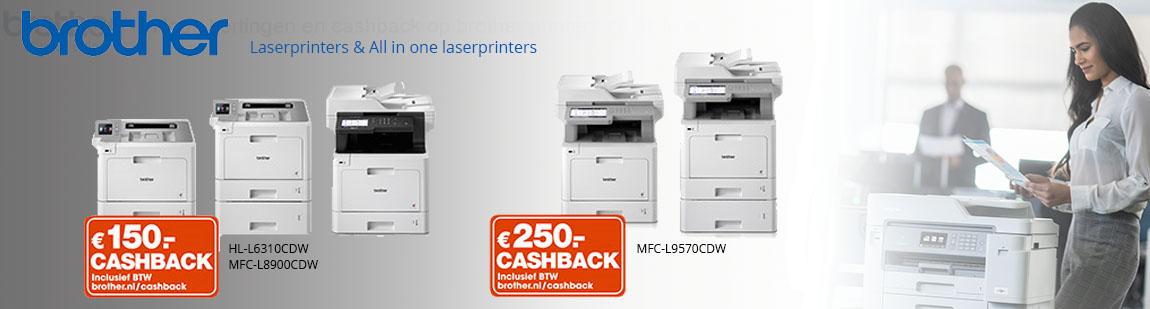 Brother laserprinter cashback