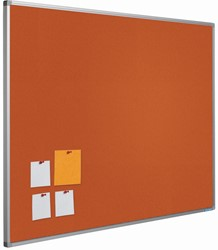 Bulletin board Smit Visual 45x60 cm oranje