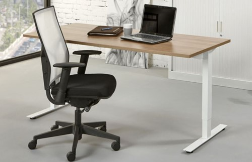 Bureau En Kantoor : Bureau voor kantoor proline tendenz aluminium ahorn bij pro office