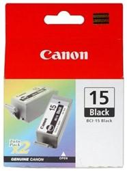 Canon BCI-15BK duopack zwart