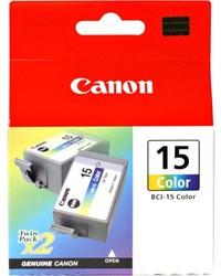 Canon BCI-15C duopack kleur