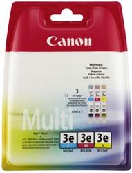 Canon BCI-3e multipack 3 kleuren cartridges