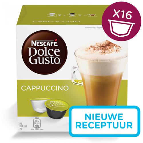 Nescafé Dolce Gusto cups Cappuccino pak van 16 capsules
