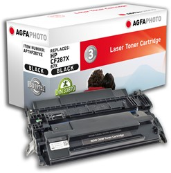 APTHP287AE AP HP LJFLOWMFPM527 CARTR BLK CF287A / 87A 9000pages