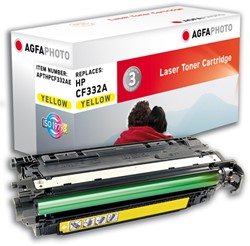 APTHPCF332AE AP HP CLJM651 CARTR YEL CF332A/654A 15.000pages