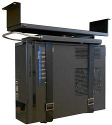 CPU houder met spanband