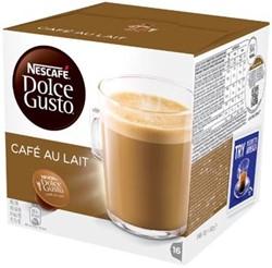 Nescafé Dolce Gusto cups, Café au lait, pak van 16 capsules