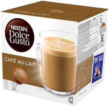 Nescafé Dolce Gusto cups Café au lait pak van 16 capsules