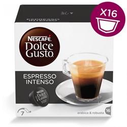 Nescafé Dolce Gusto cups, Espresso Intenso, pak van 16 koffiepads