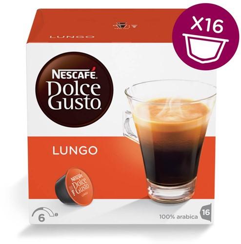 Nescafé Dolce Gusto cups Lungo pak van 16 capsules