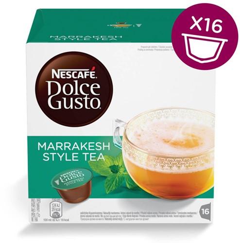 Nescafé Dolce Gusto thee cups, Marrakesh Style Tea, pak van 16 capsules