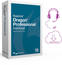 Dragon Professional Individual 15 Nederlands spraakherkenningssoftware