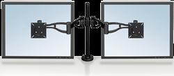 Monitorarm met een draagkracht van 20 kg voor 2 schermen