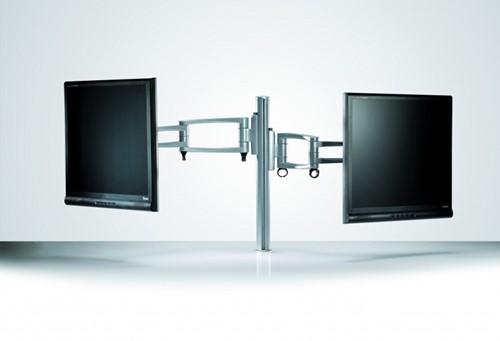 Monitorarm met 2 schermen MZ102T